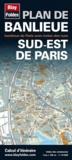 Blay-Foldex - Plan de banlieue sud-Est de Paris - 1/14 000.