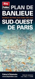 Plan de banlieue, Sud-Ouest de Paris - 1/14 000, Banlieue de Paris avec index des rues.pdf