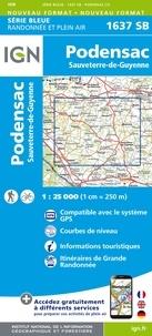 Podensac Sauveterre-de-Guyenne - 1/25 000.pdf