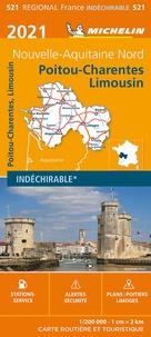 Michelin - Poitou-Charentes-Limousin - 1/200 000.