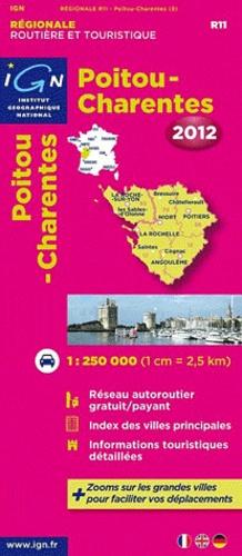IGN - Poitou-Charentes - 1/250 000.