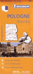 Michelin - Pologne Nord-Est - 1/300 000.