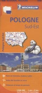 Michelin - Pologne Sud-Est - 1/300 000.