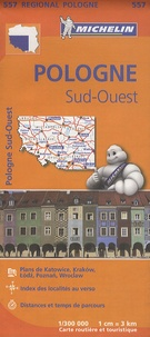 Michelin - Pologne Sud-Ouest - 1/300 000.