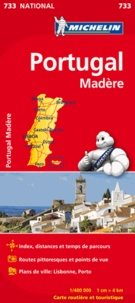Michelin - Portugal Madère - 1/400 000.
