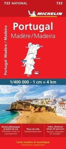 Michelin - Portugal, Madère - 1/400 000.