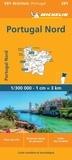 Michelin - Portugal Norte - 1/300 000.