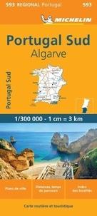 Michelin - Portugal - Sul Algarve. 1/300 000.
