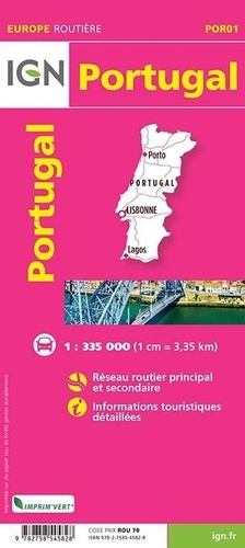 Portugal. 1/335 000
