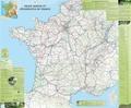 IGN - Poster Voies vertes et véloroutes de France - 1/1 020 000.