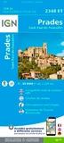 IGN - Prades, Saint-Paul-de-Fenouillet - 1/25 000.
