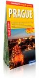 Express Map - Prague - Miniguide, plan de ville 1/20 000, plan du centre 1/11 000.