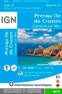 IGN - Presqu'île de Crozon - 1/25 000.