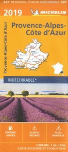 Michelin - Provence-Alpes-Côte d'Azur - 1/200 000 - indéchirable.