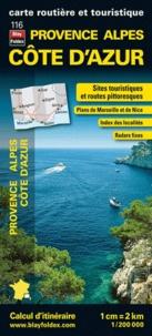 Blay-Foldex - Provence Alpes Côte d'Azur - 1/200 000.