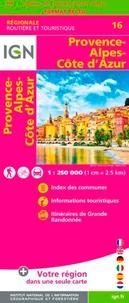 IGN - Provence-Alpes-Côte d'Azur - 1/250 000.