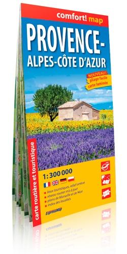 Provence-Alpes-Côte-d'Azur. 1/300 000 édition 2014 - Express Map