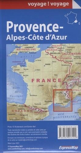 Provence-Alpes-Côte d'Azur. 1/300 000