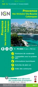 IGN - Provence, Ste Victoire, Ste Baume, Calanques - 1/75 000.