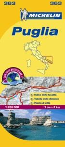 Michelin - Puglia - 1/200 000.