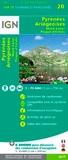 IGN - Pyrénées Ariégeoises - 1/75 000.