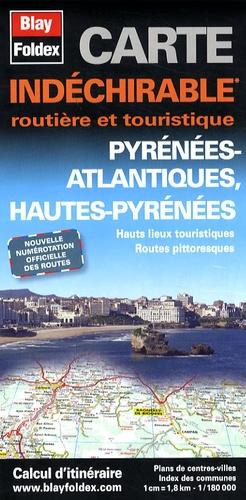 Blay-Foldex - Pyrénées-atlantiques, Hautes-Pyrénées - 1/180 000.