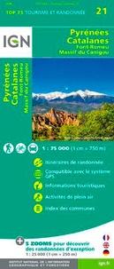 IGN - Pyrénées Catalanes - 1/75 000.