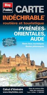 Blay-Foldex - Pyrénées Orientales, Aude - 1/180 000.