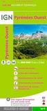 IGN - Pyrénées Ouest - 1/200 000.