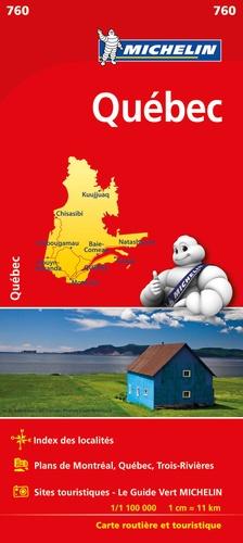 Michelin - Québec - 1/1 100 000.
