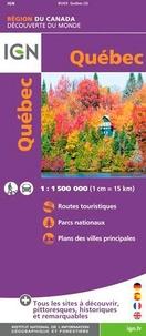 IGN - Québec - 1/1 500 000.