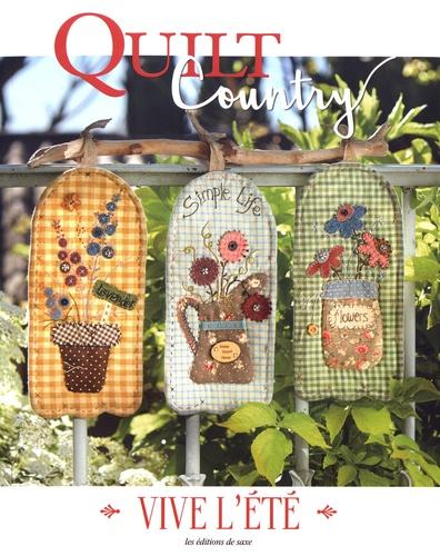 Editions de Saxe - Quilt Country N° 57 : Vive l'été.