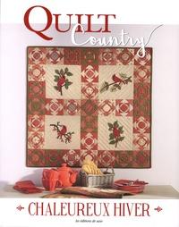 Editions de Saxe - Quilt Country N°59 : Chaleureux hiver.