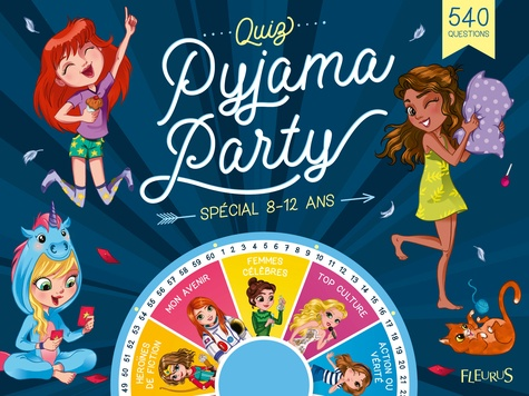 Quiz Pyjama Party Spécial 8 12 Ans 540 Questions Grand Format