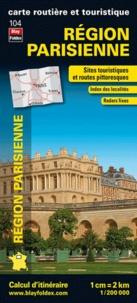 Blay-Foldex - Région parisienne - 1/200 000.
