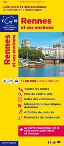 IGN - Rennes et ses environs - 1/80 000.