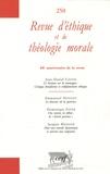 Jean-Daniel Causse et Emmanuel Housset - Revue d'éthique et de théologie morale N° 250, Septembre 20 : .