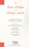 Laurent Lemoine et Jean Mercier - Revue d'éthique et de théologie morale N° 260, Septembre 20 : .
