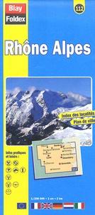 Blay-Foldex - Rhône Alpes - 1/200 000.