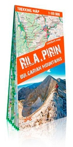 Express Map - Rila & Pirin - 1/80 000.