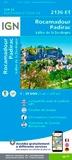 IGN - Rocamadour, Padirac, Vallée de la Dordogne - 1/25 000.