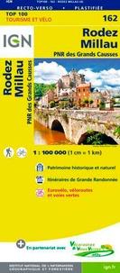 IGN - Rodez Millau - 1/100 000.