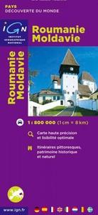 IGN - Roumanie Moldavie - 1/800 000.