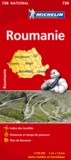 Michelin - Roumanie - 1/750 000.