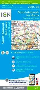 IGN - Saint-Amand-les-Eaux, Condé-sur-l'Escaut - 1/25 000.