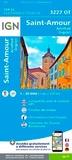 IGN - Saint-Amour, Arinthod, Orgelet - 1/25 000.