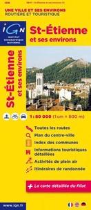 IGN - Saint-Etienne et ses environs - 1/80 000.