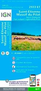 IGN - Saint-Etienne Massif du Pilat - 1/25 000.