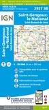 IGN - Saint-Gengoux-le-National Saint-Bonnet-de-Joux - 1/25 000.