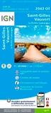 IGN - Saint-Gilles, Vauvert, la Petite Camargue - 1/25 000.